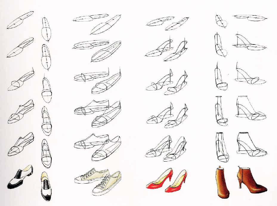 Курс fashion-иллюстрации. 6 урок. Руки и ноги. Обувь