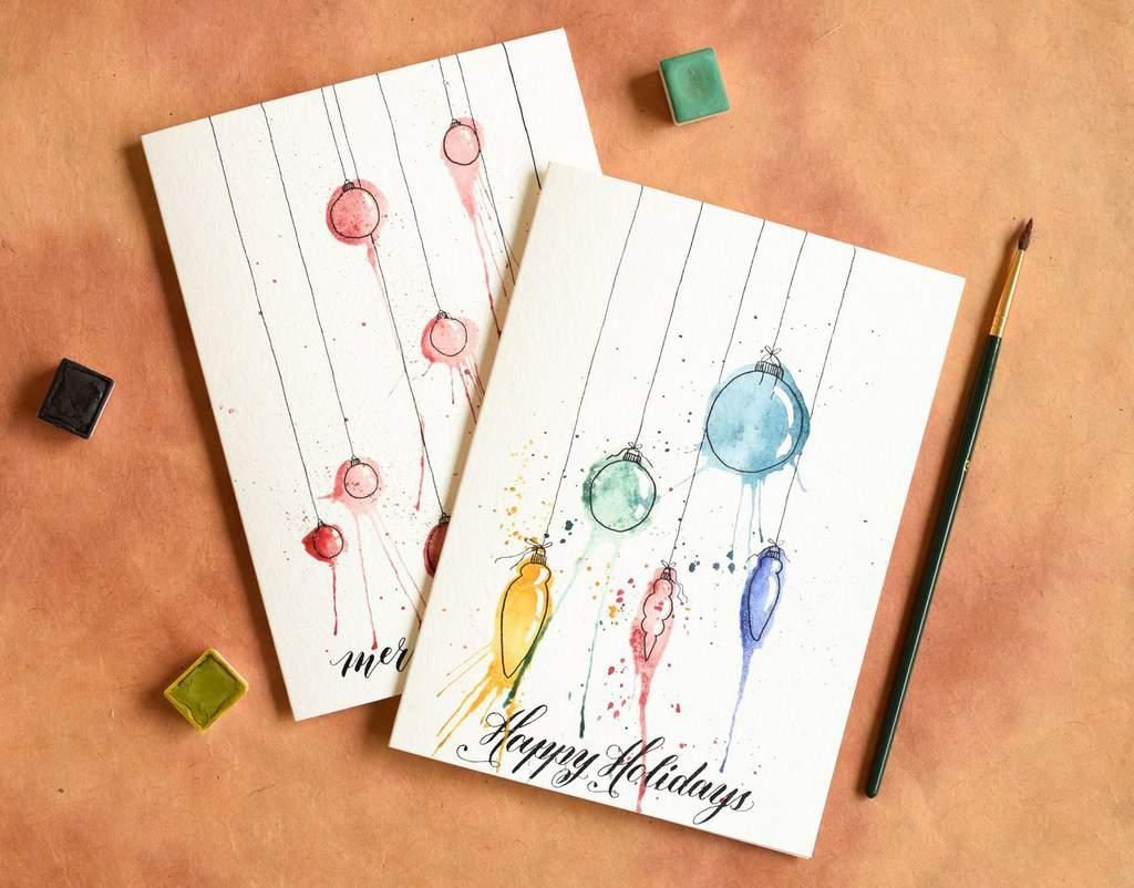 прикольное оформление открыток нарисовать все
