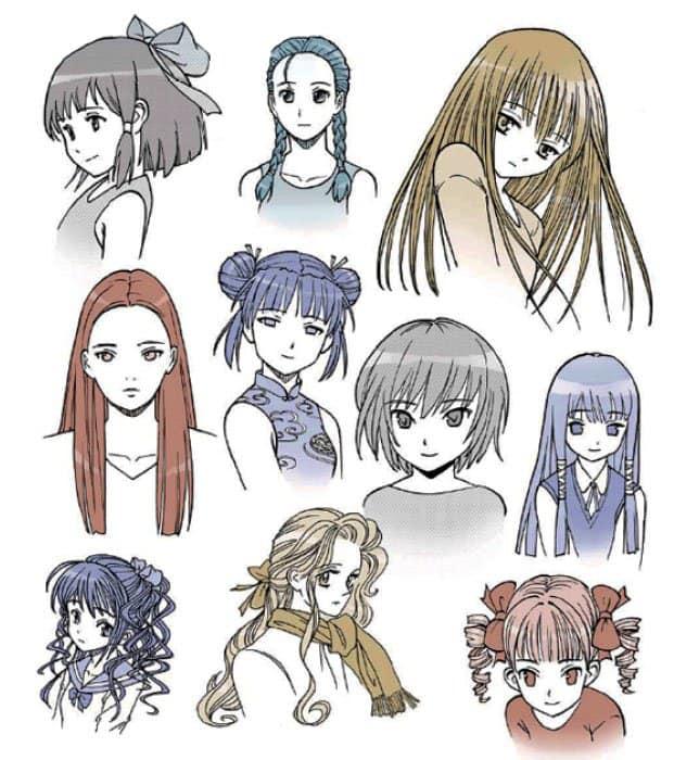 Прически аниме для девушек. 20 вариантов